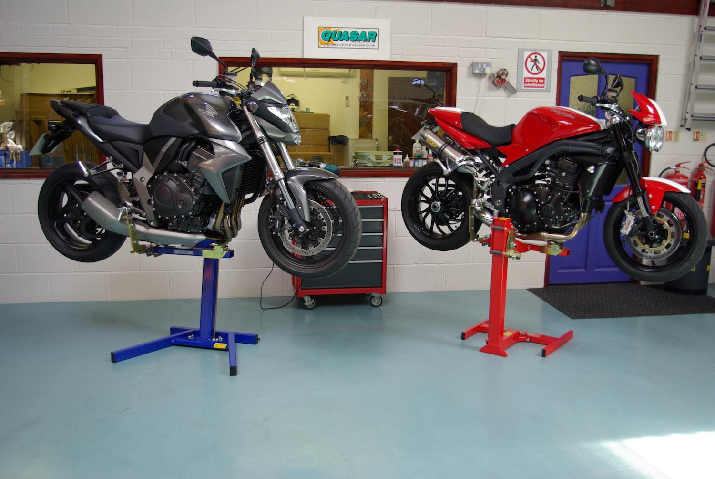 Motorcycle Work Lift : Motorcycle lift motorbike stand sports bike