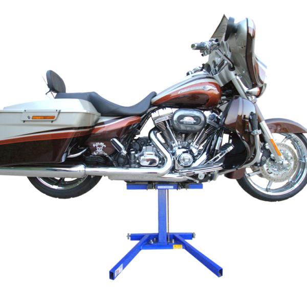 Lifting a Harley Bagger