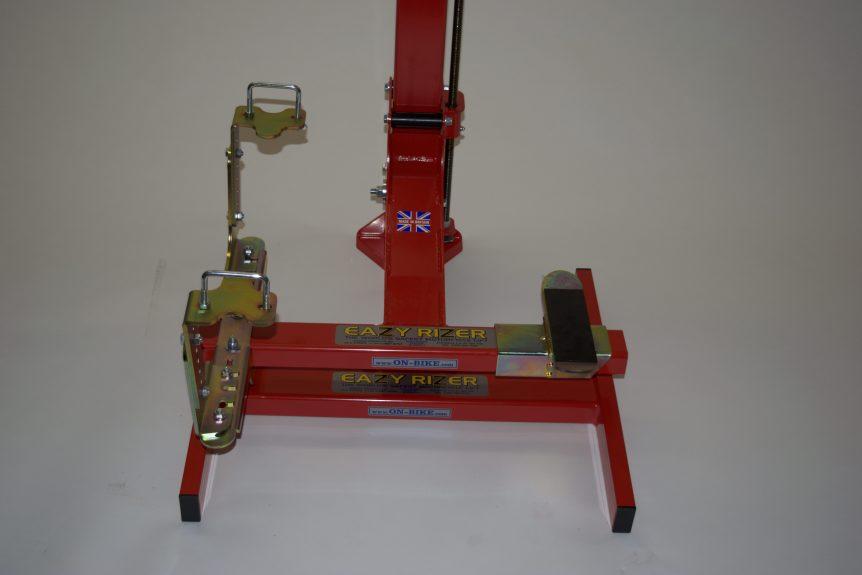 Heavy Duty Footpeg mounts EazyRizer Red Lift