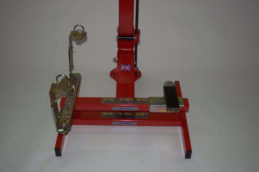 Standard Footpeg mounts EazyRizer Red Lift