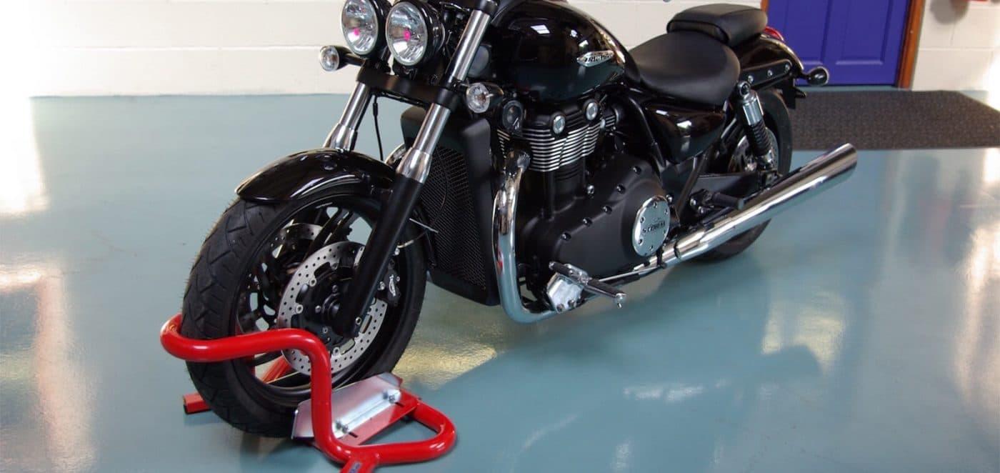 BikeGrab Motorcycle Wheel Chock