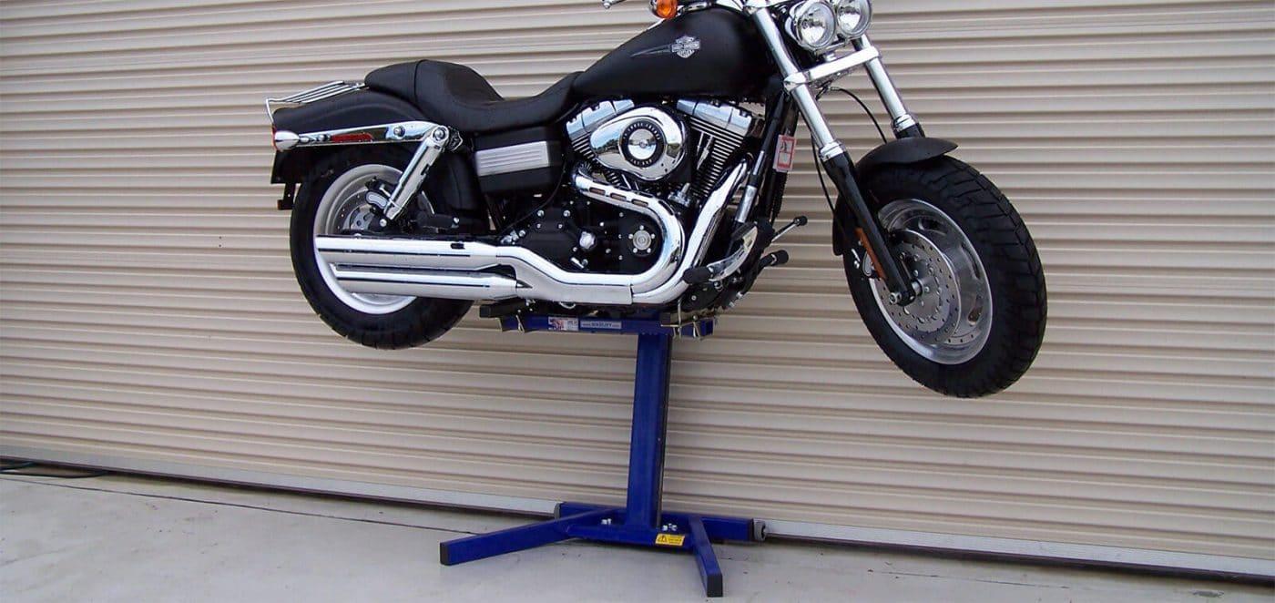 Harley Fat Bob Lift