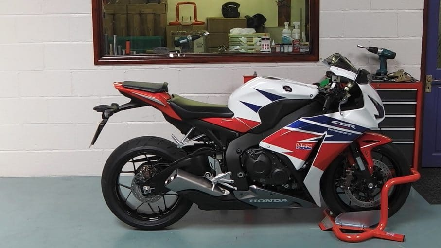 Honda CBR Wheel Chock