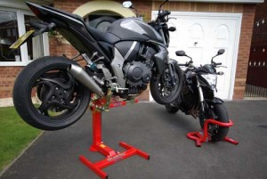 Lifts and Stands to Keep you motorbike safe and secure