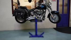 Workshop Lift for Harley Davidson
