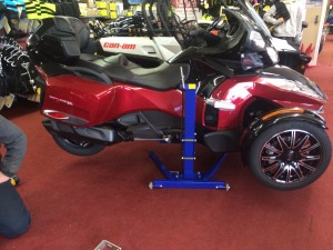 CanAm Spyder motorcycle Lift