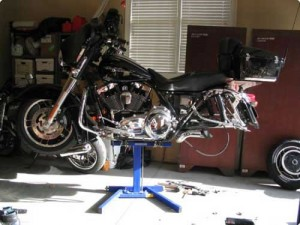 Wheel removal on Harley Davidson
